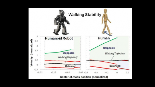 Walking Stability of Robot